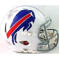 $405 » Stefon Diggs Autographed Buffalo Bills F/S Speed Authentic Helmet - Beckett W Auth Black