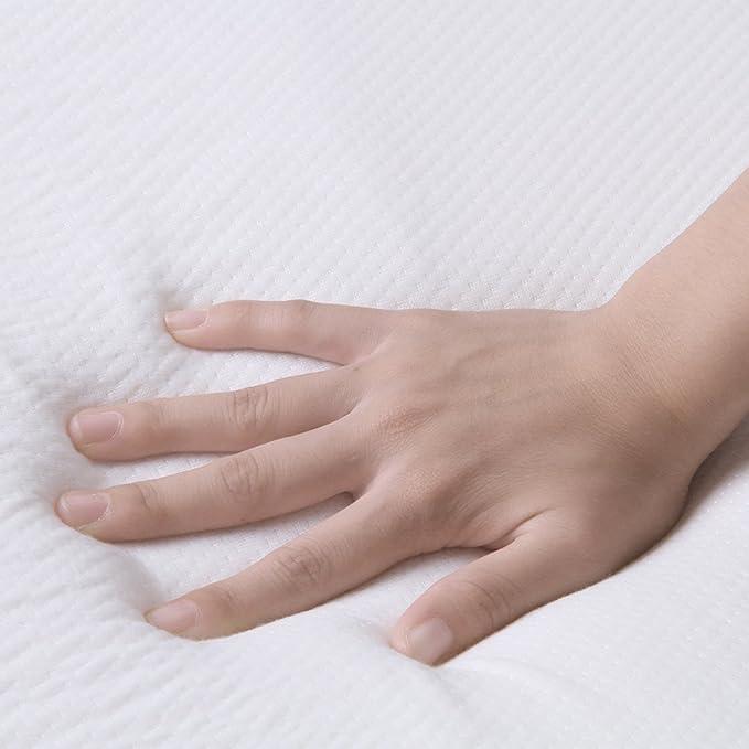 Colchoncillo de 7,62 cm para colchón, ignífugo, Langria, Blanco, Doublé: Amazon.es: Hogar
