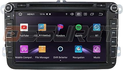 Android 10 Navigazione GPS per auto Bluetooth 2 Din Stereo per