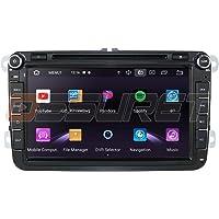 Android 10 Auto GPS Navigatie Bluetooth 2 Din Voertuig Stereo met 8 Inch Touchscreen voor W Skoda Seat Ondersteuning…