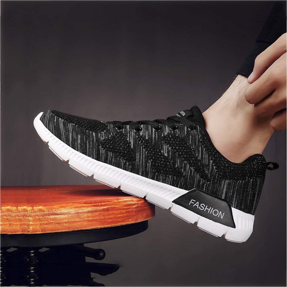 Turnschuhe der Männer, beiläufige Sport-Laufende Schuhe, Fliegende Gesponnene Schuhe im im im Freien, Koreanische Version neigen Niedrig, Um Breathable Schuhe, Maschen-Schock-Schuhe zu Helfen 7d8e3c