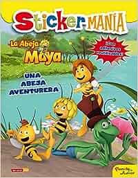 La Abeja Maya. Stickermanía: Una abeja aventurera La Abeja
