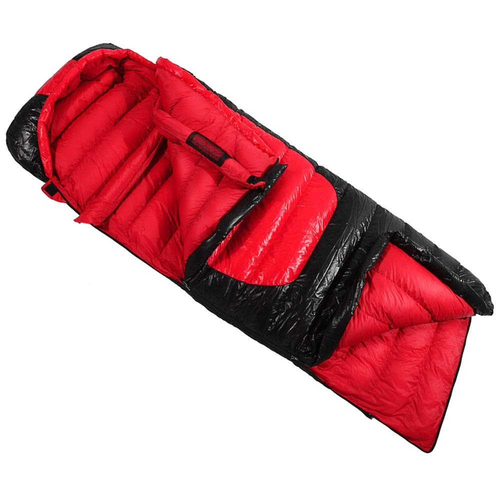 YONGMEI 寝袋 - 屋外の寝袋アウトドア超軽量封筒大人のステッチ1.5キロ (色 : Red)  Red B07KVRKNJN