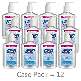 Purell Advanced Hand Sanitizer Refreshing Gel Clean Scent 8 Fl