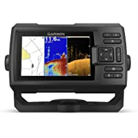 "$269 » Garmin Striker Plus 5cv with Transducer, 5"" GPS Fishfinder with CHIRP Traditional and ClearVu…"