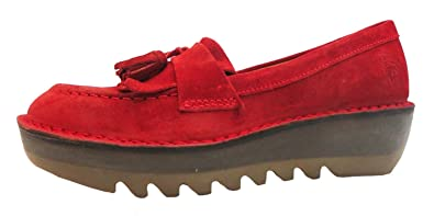 333eb15b7d8 Image Unavailable. Image not available for. Colour  Size 8 Fly London  Women s Juno Suede Loafers