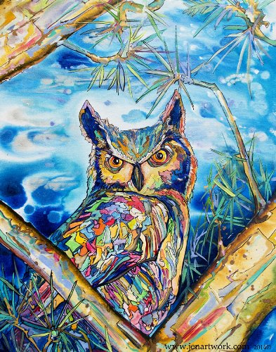 Bird Artwork, Giclee Gallery Wrapped