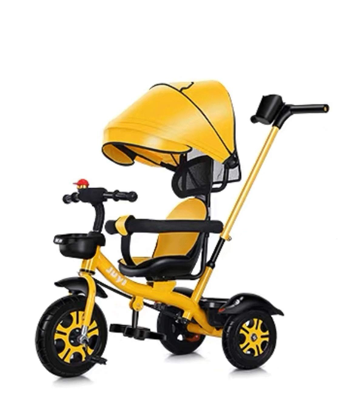 Children's Tricycle Bicycle Large Baby Stroller Baby Light Bicycle Stroller