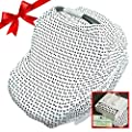 Croc N Frog 6 In 1 Nursing Cover For Breastfeeding Baby Carseat Cover Carseat Canopy Shopping Cart Cover High Chair Cover Or Infinity Scarf Comes In Gift Pack For Baby Shower Gifts New Arrival