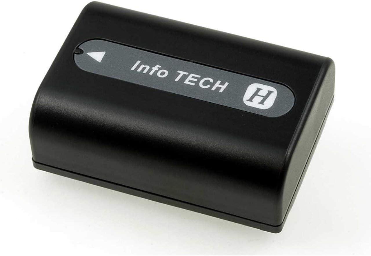 Akku f/ür Sony Typ NP-FH50 6,8V Li-Ion