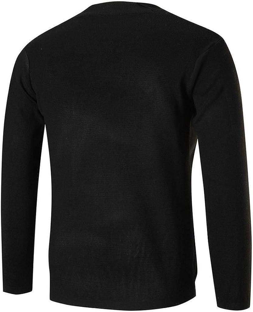 Mens Cardigan Kinghard Mens Knitted Cardigan Sweater Blouse Tops Cardigan Sweater Coat Fall Mens Sweater Cardigan