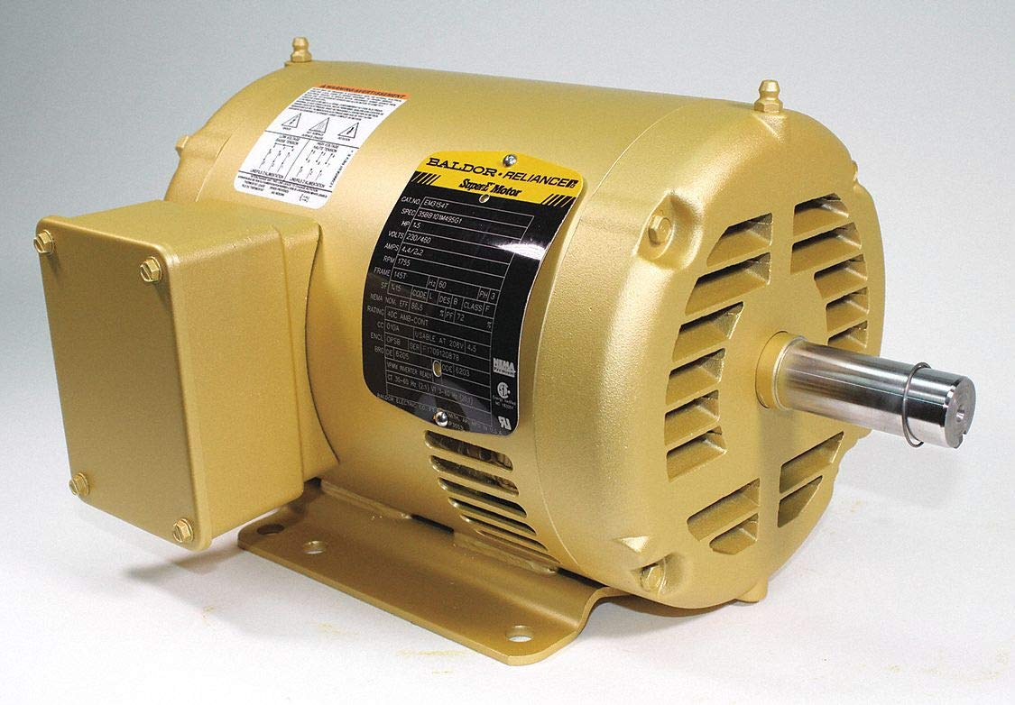 Motor, 3-Ph, 1-1/2 HP, 1755 RPM, 145T, ODP
