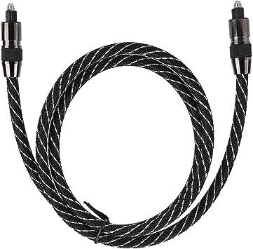 Cable óptico de Audio Digital, Conexión de Puerto Cuadrado de 7,0 Mm Od para Grabadora de Video Smart TV Digital, Barra de Sonido, Cine En Casa, Etc.(3 Metros): Amazon.es: Bricolaje y herramientas