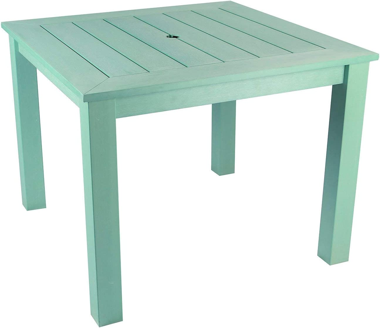 DUCK EGG WINAWOOD SQUARE DINING TABLE 98x98cm