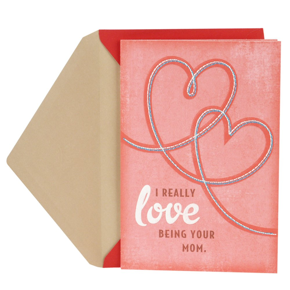 Amazon hallmark valentines day greeting card for son from amazon hallmark valentines day greeting card for son from mother stitched hearts office products kristyandbryce Images