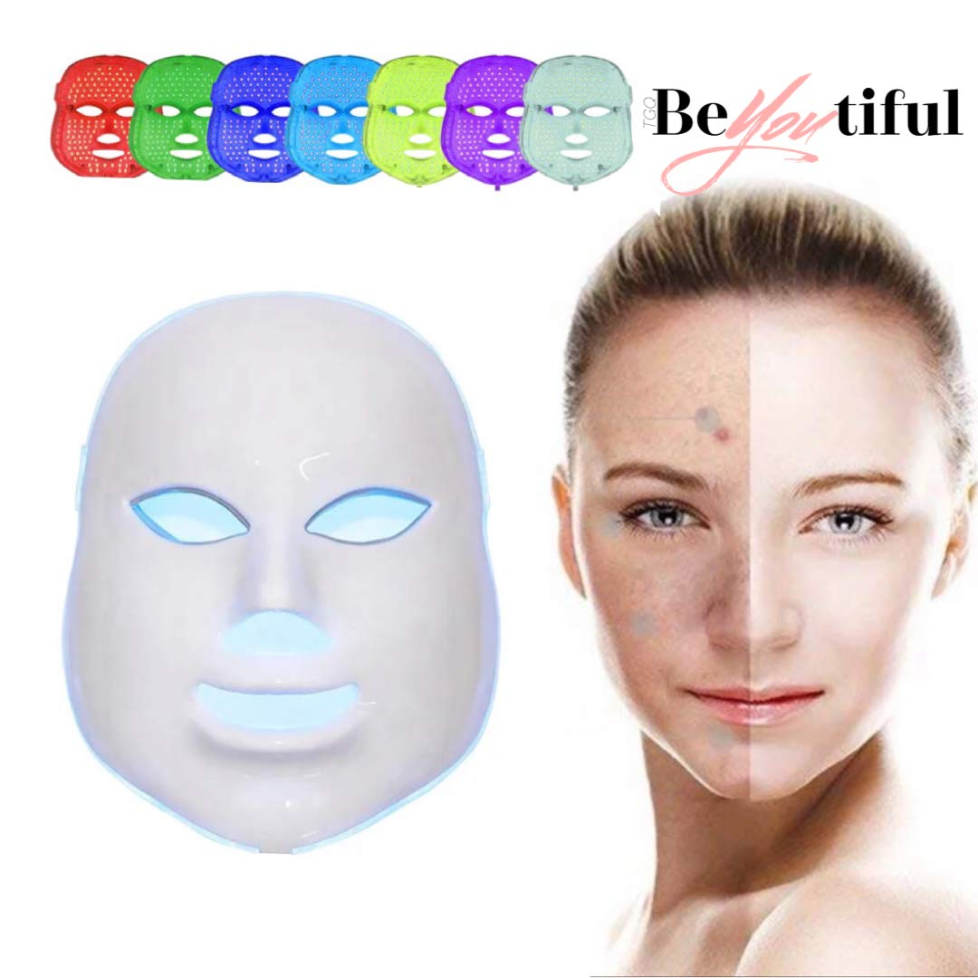 7 Colors LED Mask - BeYOUtiful Rejuvenating Beauty Therapy Facial Skin Care Mask