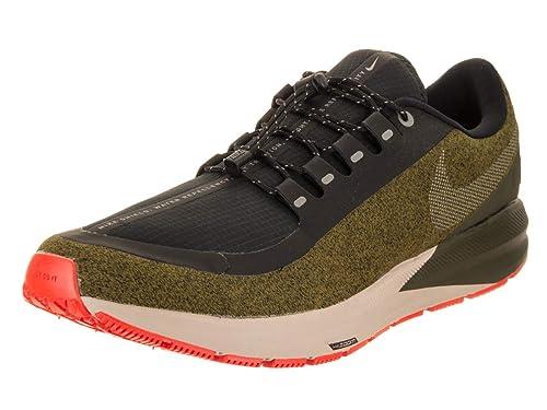b45dc8ef37afa Nike Air Zoom Structure 22 Shield Men s Running Shoe Olive Flak Metallic  Silver-Black-String 8.0  Amazon.ca  Shoes   Handbags