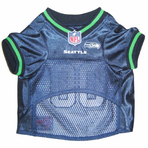 Pets First NFL Seattle Seahawks Jersey, Large