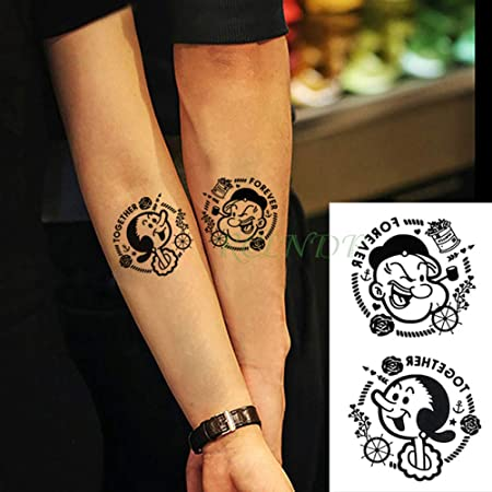 3 PC Impermeable Etiqueta engomada del Tatuaje en el Cuerpo del ...