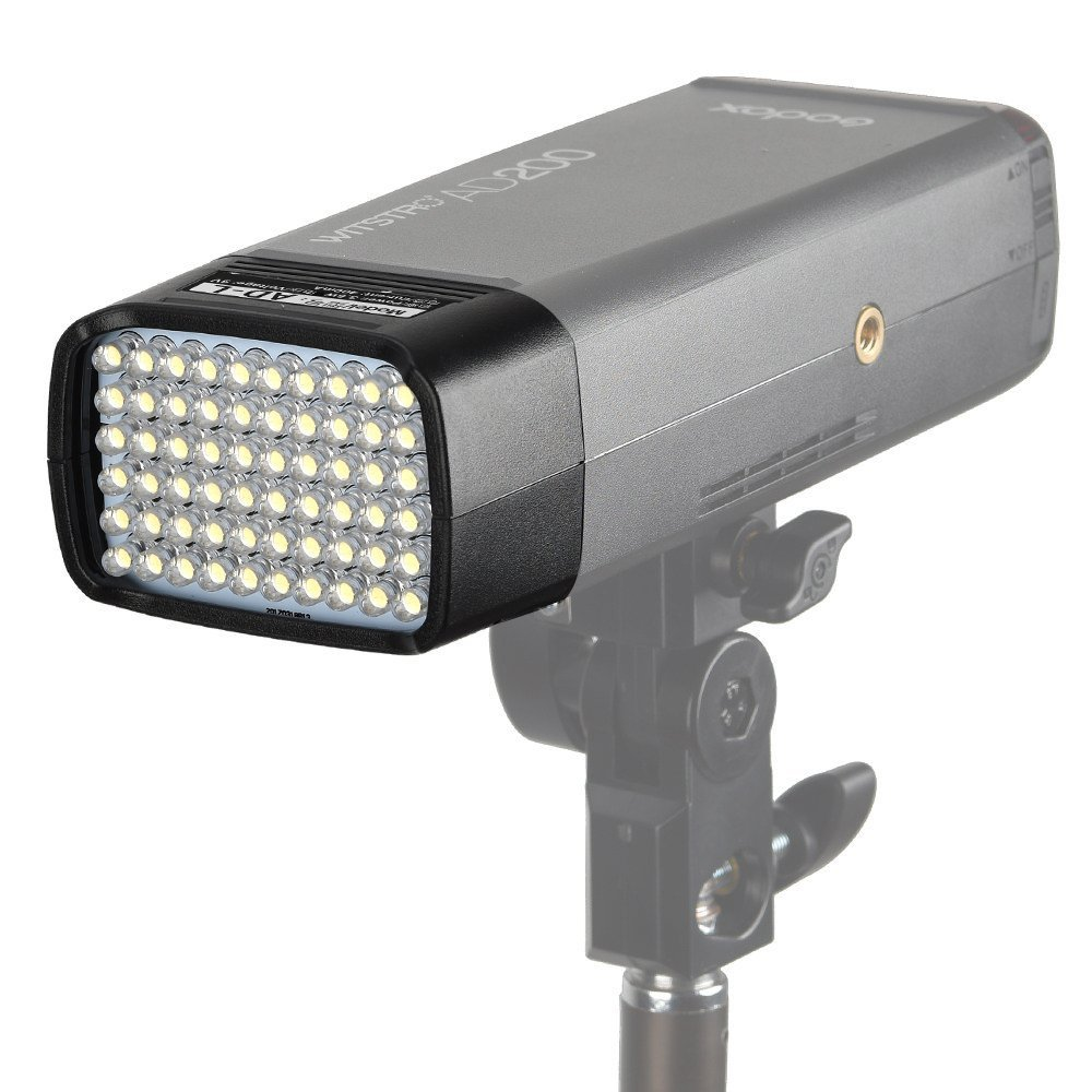 Godox AD-L LED Light Head Dedicated compatible for AD200 Portable Outdoor Pocket Flash Accessories 60PCS LED Lamp Outdoor lights fill lights soft lights by Godox