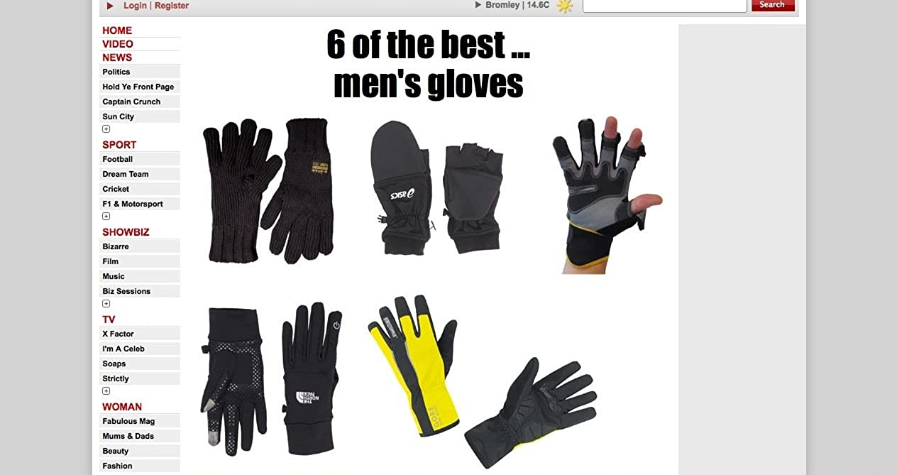 avec Bouts des Doigts repliables Bricolage et de la p/êche. Id/éal pour Les constructeurs plombiers Easy Off Gloves Gants sp/écialis/és aimants /électriciens commer/çant