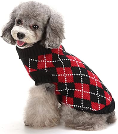 Dog Apparel Dog Clothing Dark Gray Rib Knit Turtleneck Top Dog Sweater Dog Fashion