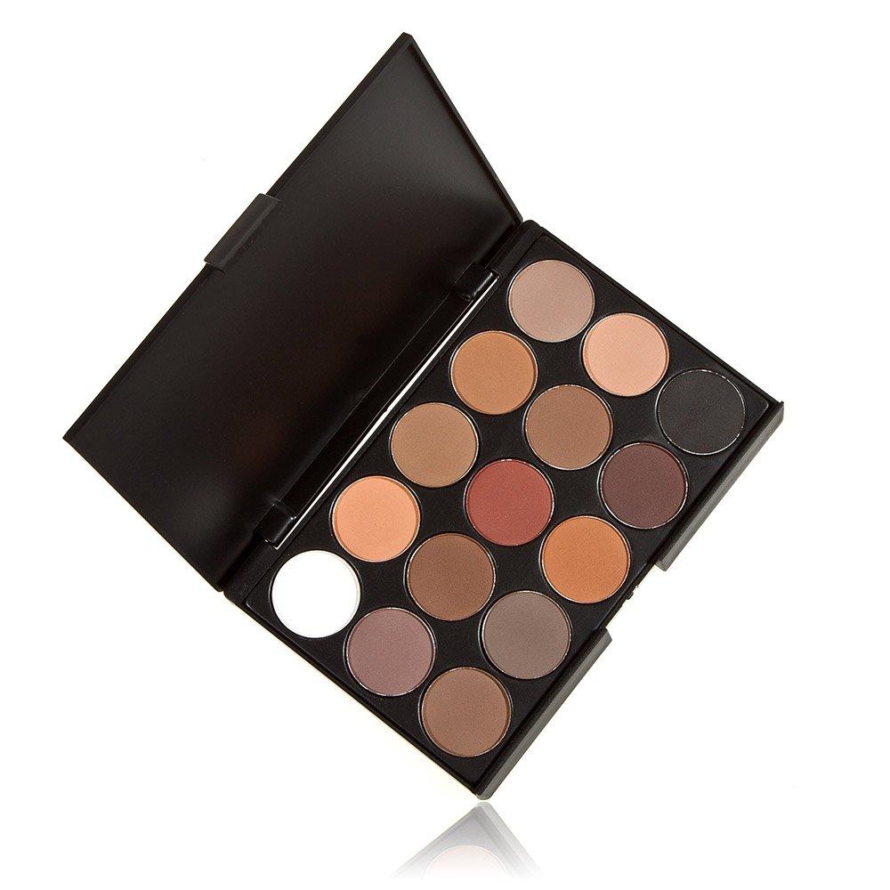 Anself Professionale 15 Colori Donne Cosmetici Trucco Neutro Nudi Caldi W1211-FF