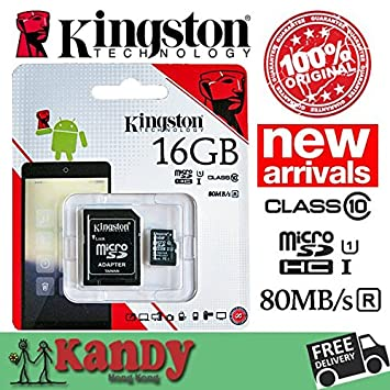 ARBUYSHOP Kingston tarjeta de memoria micro sd 8gb 16gb 32gb ...
