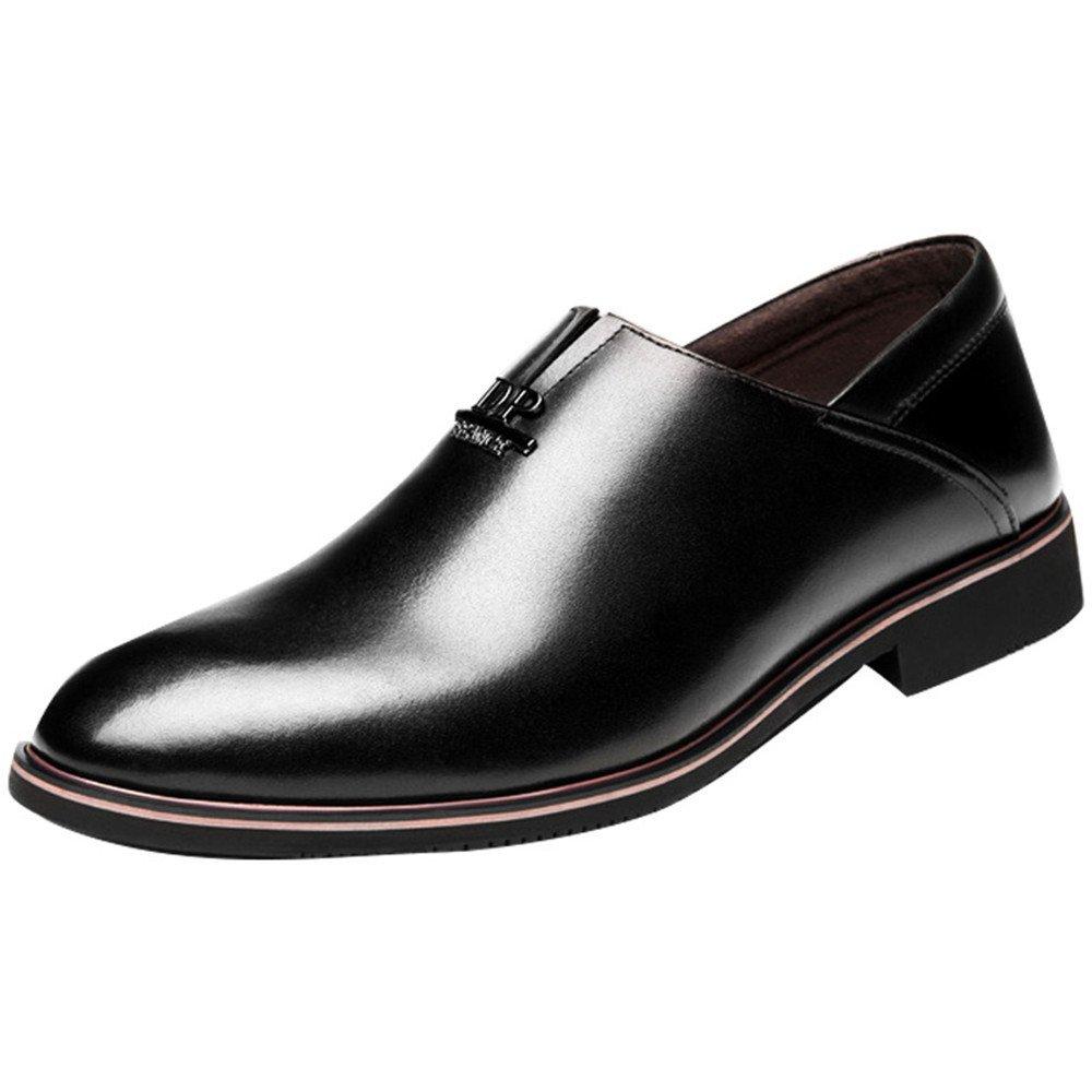 Fgmjgk Männer - Business Casual Mode, Schuhen und Mode, Casual Schuhe, Männer - Kleid an,Schwarz,42 aff009