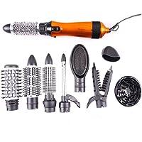 HairCurlersWW 10-en-1 électrique Multifonctionnel durcissement Irons Lisseurs & Bigoudi Coiffure Outils Sèche-Cheveux Professionnel Set 1000W