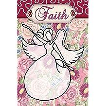 Toland Home Garden 109868 Faith Angel House Flag