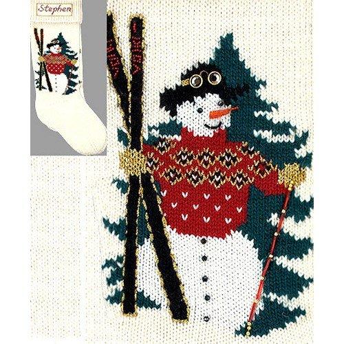 Elegant Heirlooms Christmas Stocking Kit Ski Man