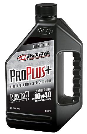 Maxima (30-02901 Pro Plus+ 10W-40 - Aceite de Motor sintético para