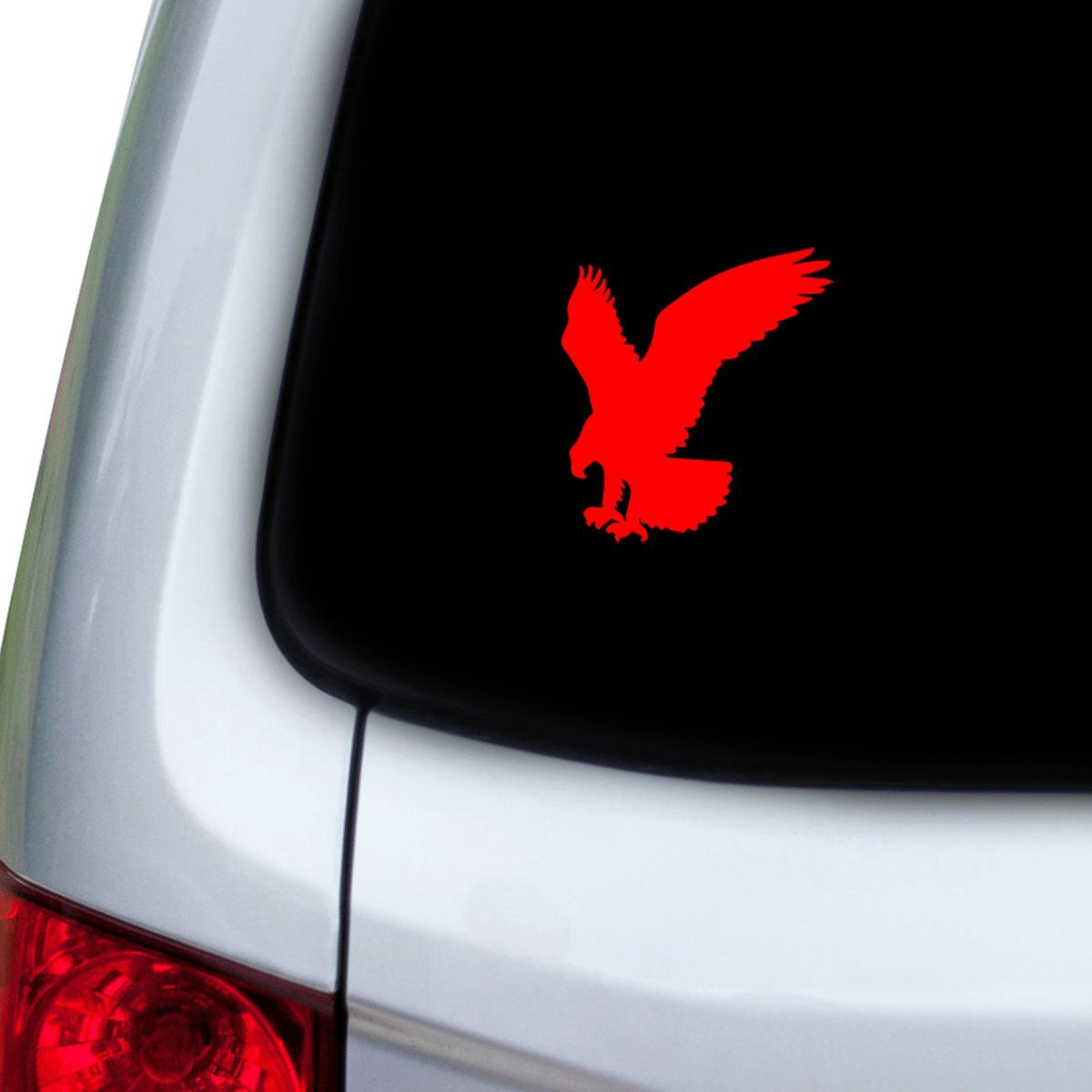 Doors Hoods Red StickAny Car and Auto Decal Series Eagle Grabbing Sticker for Windows