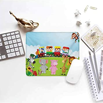 Amazon.com : Gaming Mouse Cartoon, Kids Nursery Design Happy ...
