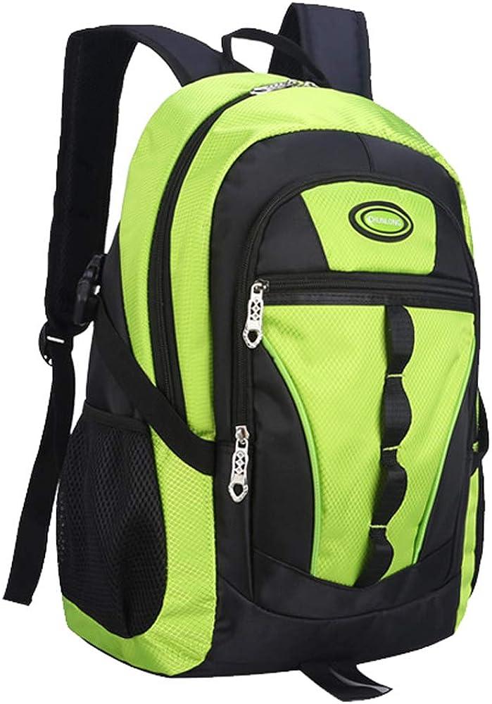 Backpacks for Boys, Waterproof Boys Backpacks for Middle School Travel Backpack (Green Backpack)