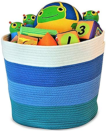 Amazoncom Organizerlogic Storage Baskets Large 15x 15x 13