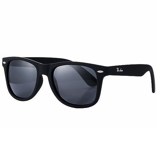 f7465a1e48 Pro Acme Classic 80 s Retro Trendy Stylish Polarized Sunglasses for Men  Women (Black)