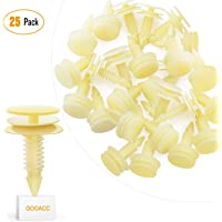 GOOACC 25 Front Door Trim Panel Retainers Clips Replaces for GM 10153057 Chevy Buick GMC Jimmy Pontiac Grand Prix 8mm Hole - 25pcs