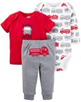 Child of Mine by Carter's, Preemie Baby Boy, Shirt, Bodysuit and Pants Set