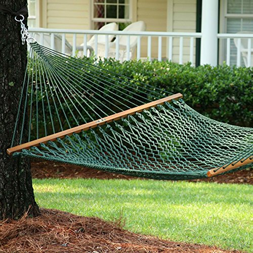 Pawleys Island Presidential Original DuraCord Rope Hammock - Green