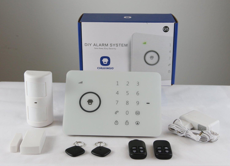Chuango G5 Touch gsm Sistema de Alarma, Blanco