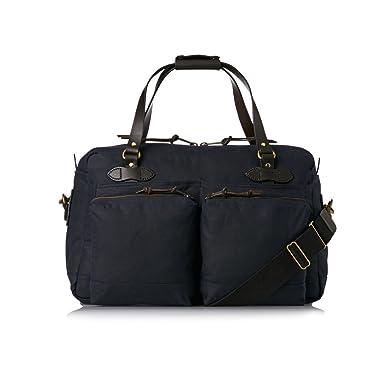 Amazon.com   Filson Men s 48 Hour Duffel Bag, Navy, One Size ... 6f97233039