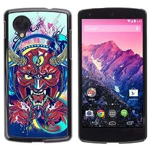YOYOSHOP [Japanese Devil Horn Monster] LG Google Nexus 5 Case