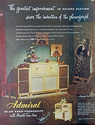 vintage admiral radio - 4