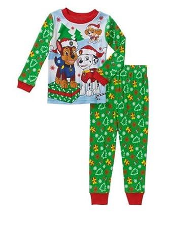 Amazon.com  Paw Patrol Toddler Boys Christmas Holiday Pajamas  Clothing 6f88bce0d