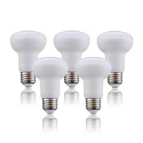 5 Pack Br20 R20 Led Light Bulb 8w Led High Efficiency Daylight