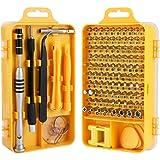 Trekoo Screwdriver Set, 110 in 1 Precision Screwdriver Repair Tool Kit Magnetic Driver Kit Professional Repair Tool Kit for iPhone X, 8, 7 / Cellphone/Computer / Tablet/PC / Electronic etc