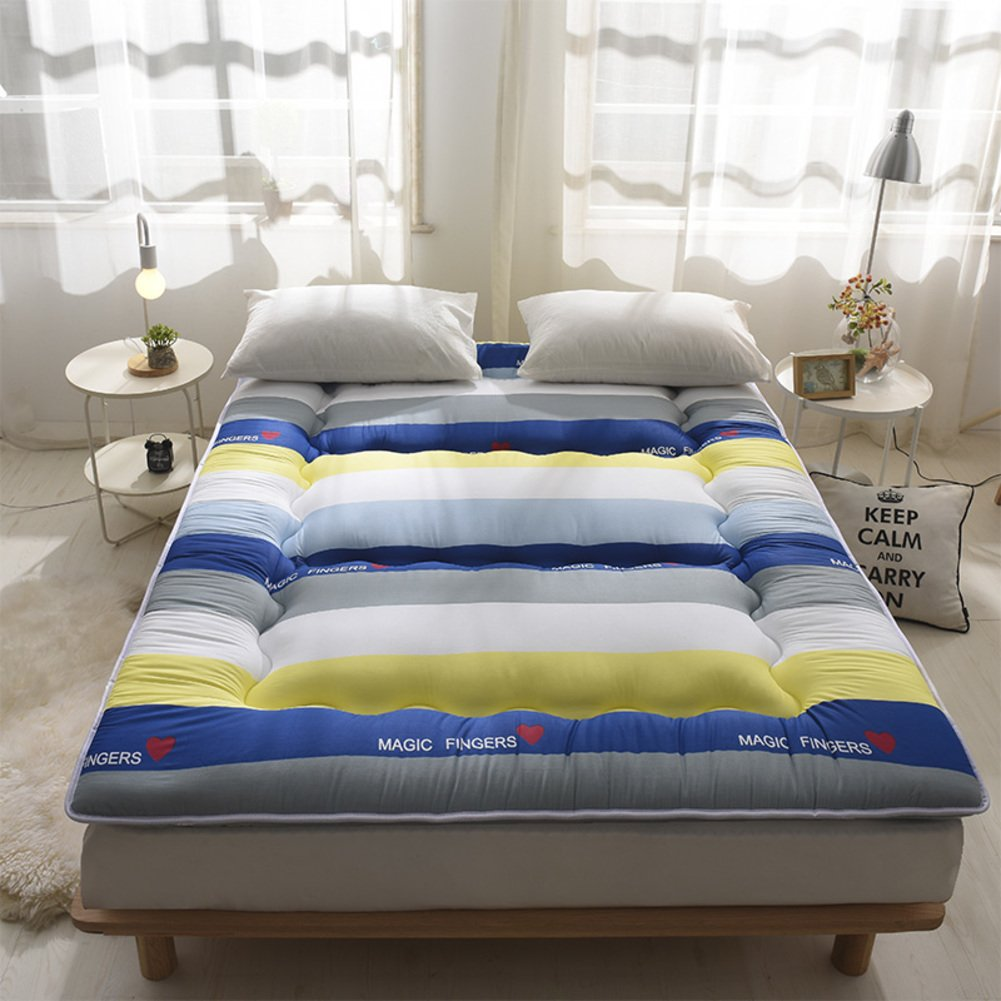 thickened tatami mattress student dormitory mat ground floor sleeping pad-E 135x200cm(53x79inch)