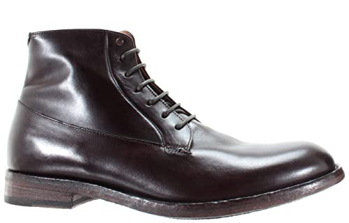 PANTANETTI Scarpe Boots Uomo 11976G Calvador Moka Sax 922 Marrone Pelle  Italy 718642e6347
